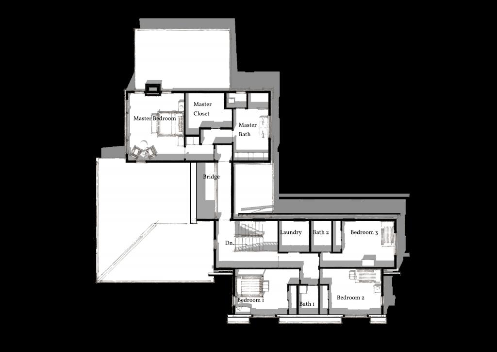 5 Wyndam Court second level 3D plan png
