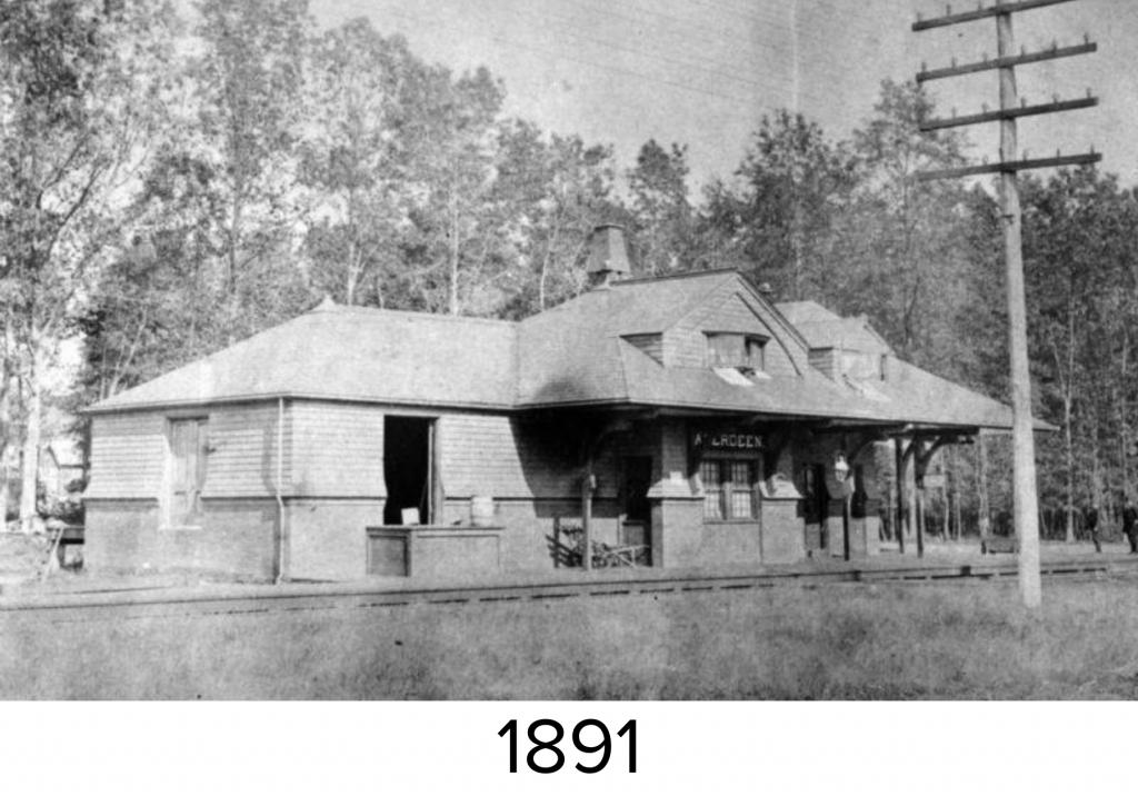 Aberdeen Station in 1891