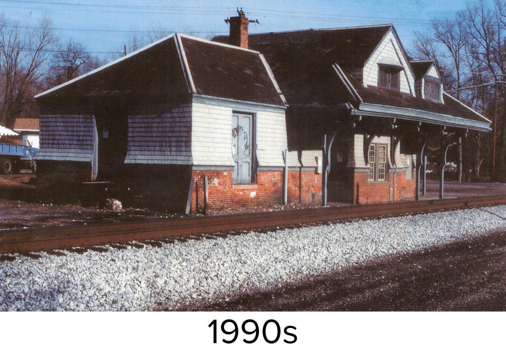 Aberdeen Station in 1990s