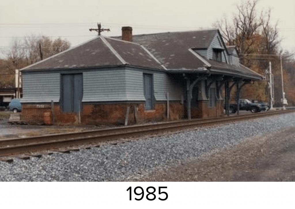 Aberdeen Station in 1985